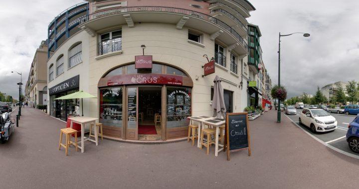 La visite virtuelle Google du restaurant Les Crus. Cave à vins, cave à manger. Le Plessis-Robinson