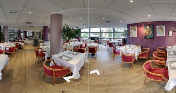 Visite virtuelle Google Street View | Trusted du restaurantt Le Châteaubriand 418 Avenue de la Division Leclerc 92290 Châtenay-Malabry. Réalisation 805 Productions Paris.